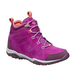 Columbia Womens Fire Venture Mid Suede Boots
