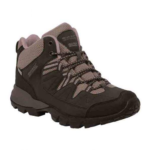 Regatta Women's Lady Holcombe MID Walking Boots Peat DuskyRo