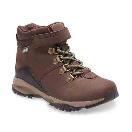 MerrellBig Kids' Alpine Waterproof Walking Boots