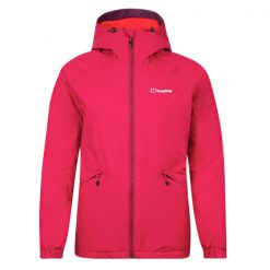 Berghaus Women's Deluge Pro Insulated Jacket Dark Pink