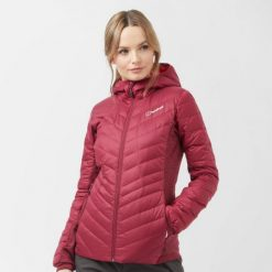 Berghaus Women's Finsler Down Jacket Dark Pink