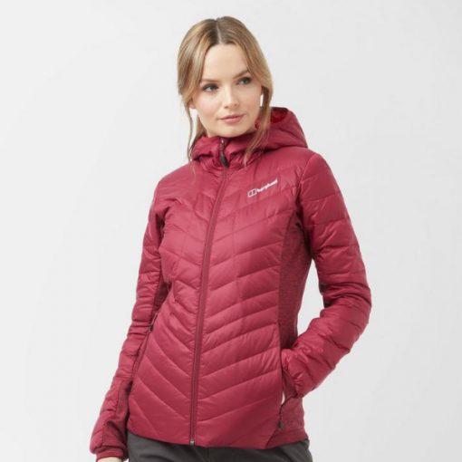 Berghaus Women's Finsler Down Jacket Dark Pink