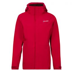 Berghaus Women's Hillwalker 3 in 1 Waterproof Jacket Red