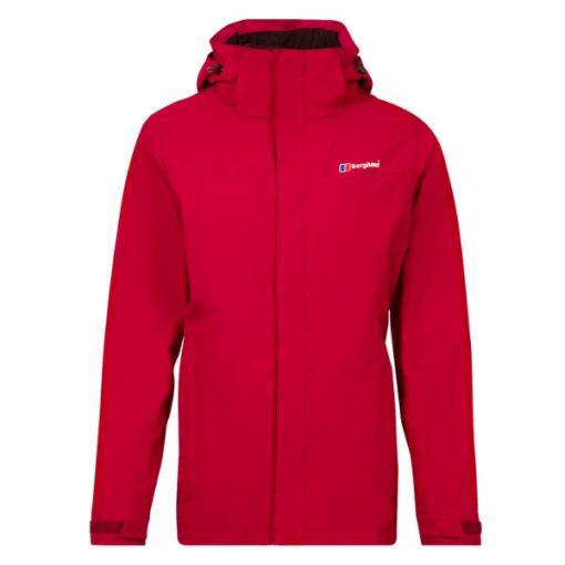 Berghaus Women's Hillwalker 3 in 1 Waterproof Jacket Red